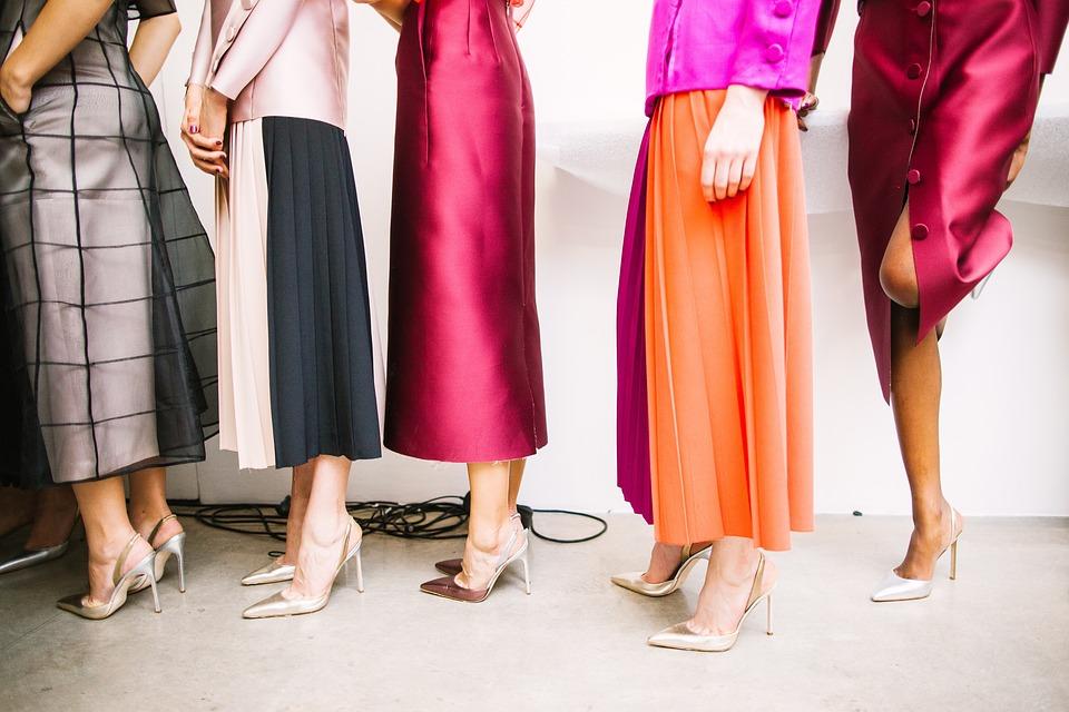 e-commerce abbigliamento Sala pose